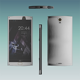 Luxury smartphone design