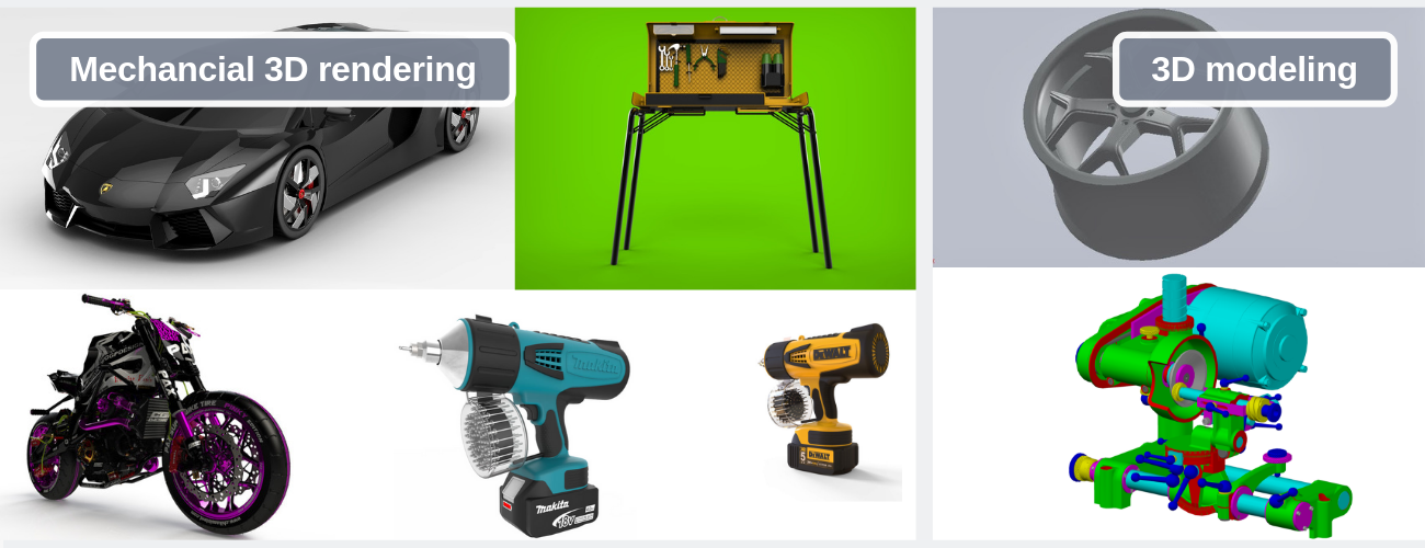 Hire Mechanical 3D Rendering Services for Your Company   Cad Crowd